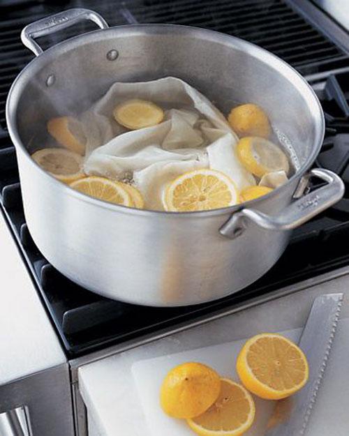 Лимон – полезный помощник в домашнем хозяйстве