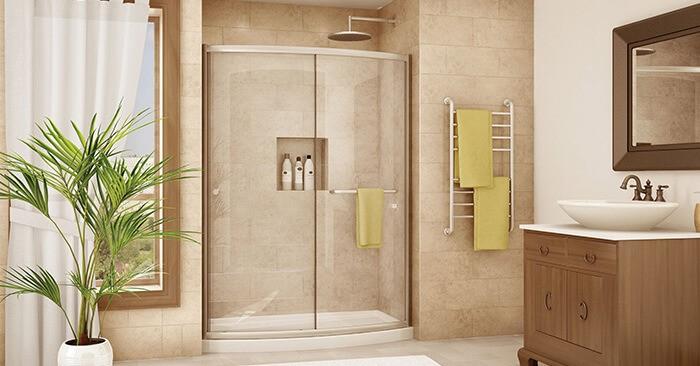 ДУШЕВЫЕ КАБИНЫ: для любой ванной комнаты