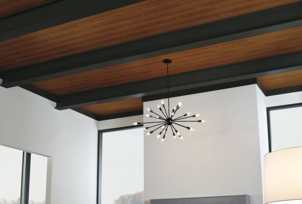 4 Полезных советов как преобразить потолок