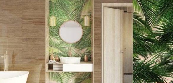 ФАТООБОИ: в ванной комнате