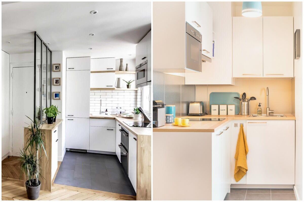 Кухни, удивительные цветовые комбинации