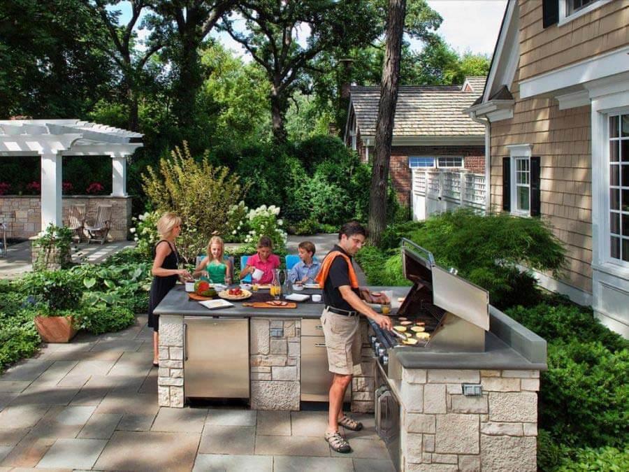 Идеи для летней кухни