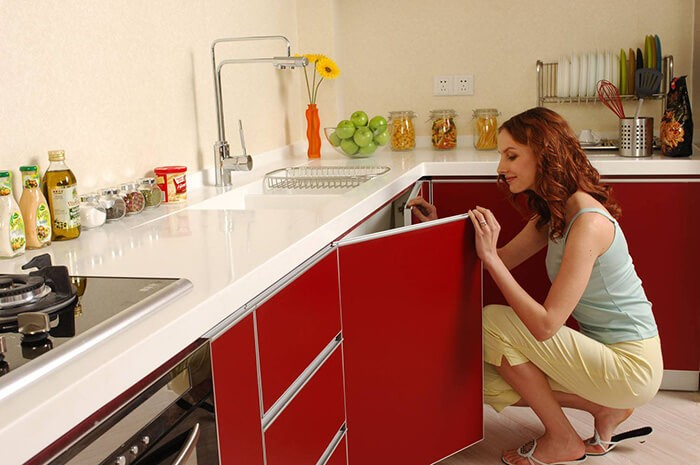 Как изменить  кухню