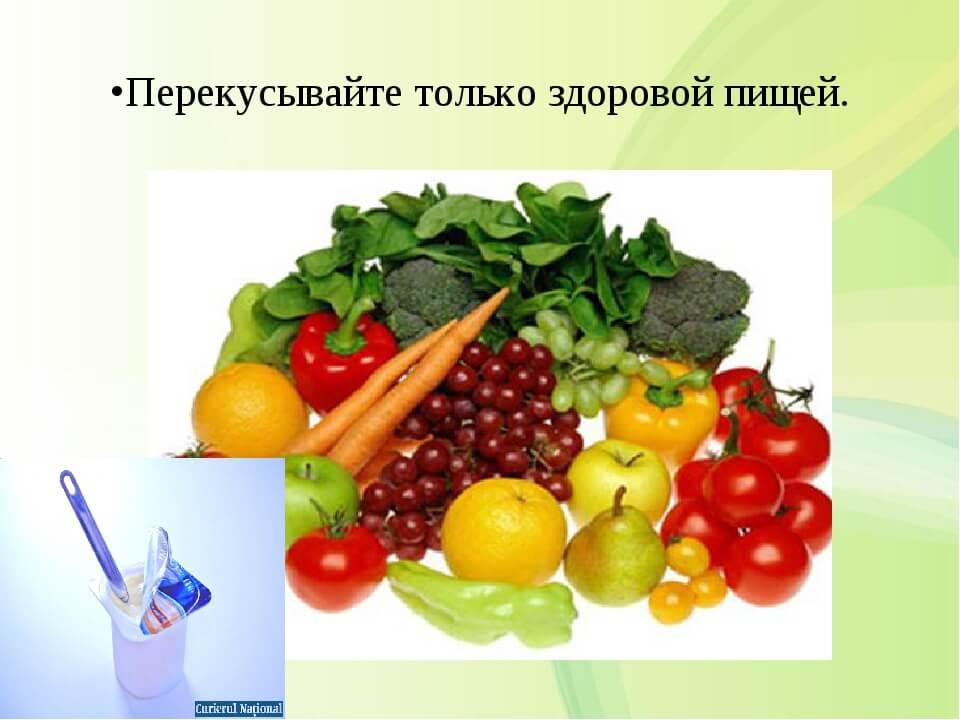 Мифы здорового питания : в которых не верят