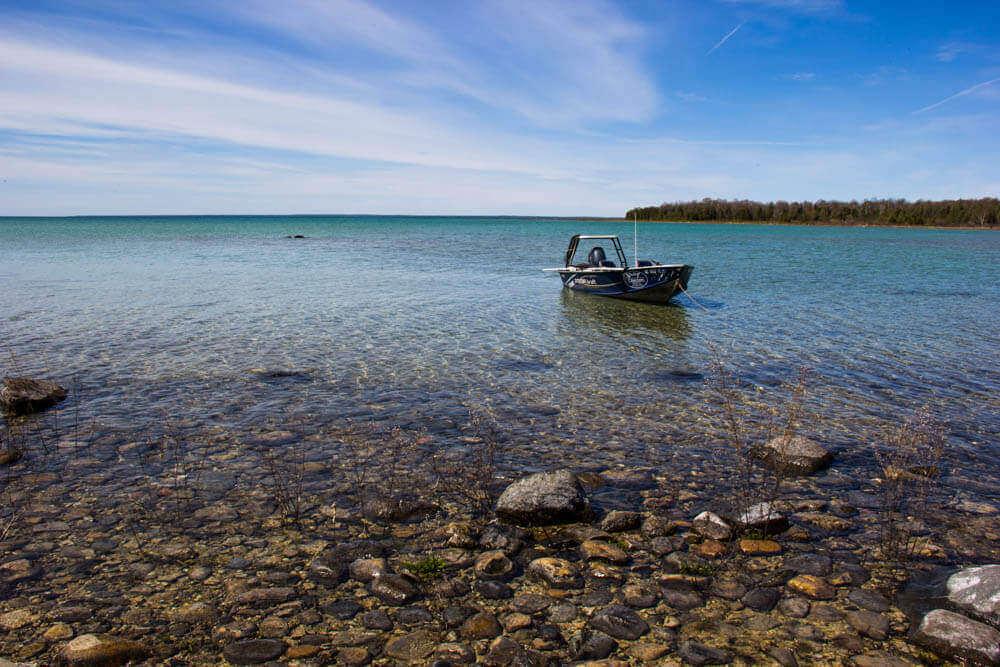 Озеро Мичиган: странное чудовище