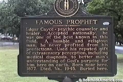 ЭДГАР КЕЙСИ: спящий пророк
