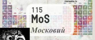 МОСКОВИЙ: таинственный химический элемент, интересные факты
