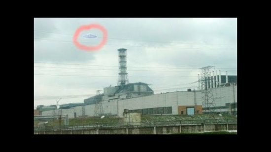 НЛО: над чернобыльской АЭС