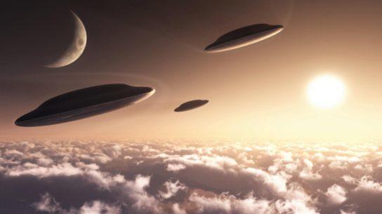 НЛО: над Новой Загорой в Болгарии