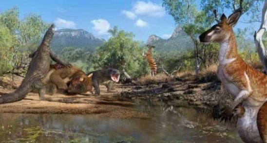 АВСТРАЛИЯ: первые поселенцы жили рядом с гигантами