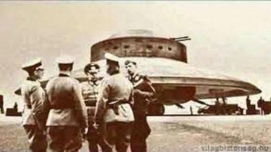 НЛО: разработки нацистской Германии