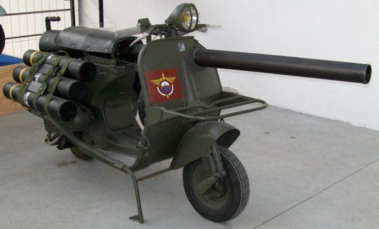 ОРУЖИЕ ФРАНЦИИ: противотанковый скутер