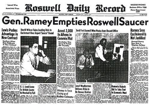 ДЕНЬ НЛО: вспомним тайны Розуэлл