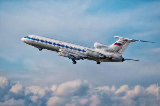 Самолёт ТУ- 154