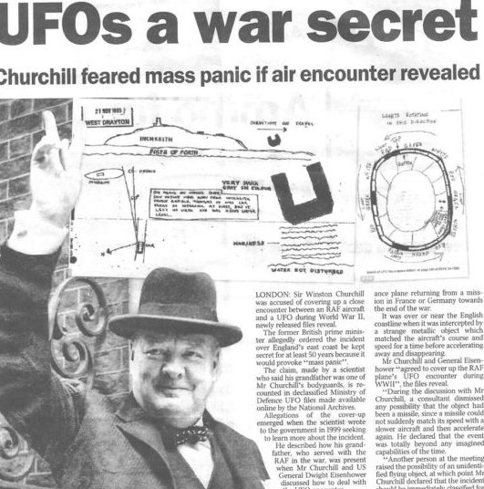 Черчиль и НЛО