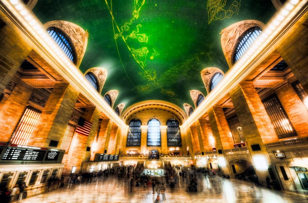 Вокзал в Нью - Иорке