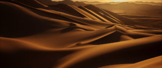Восход в пустыне