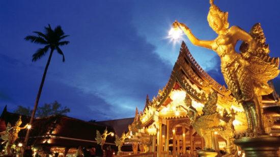 Тайланд в ночное время