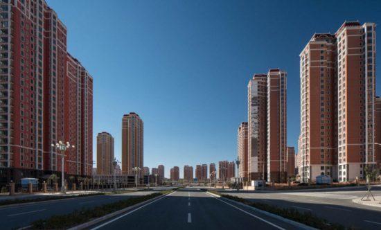 Пустой город в Китае