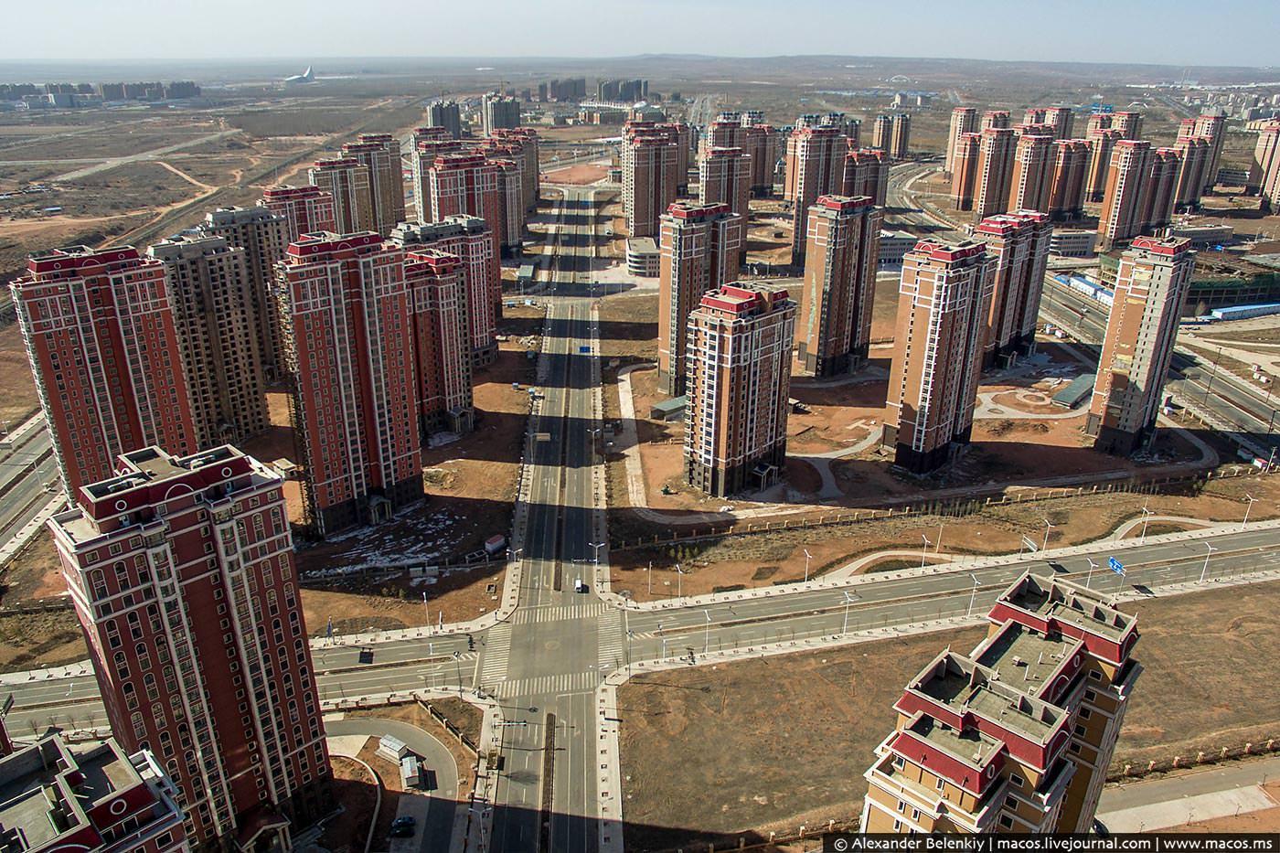 ГОРОДА ПРИЗРАКИ: в Китае - это реальность