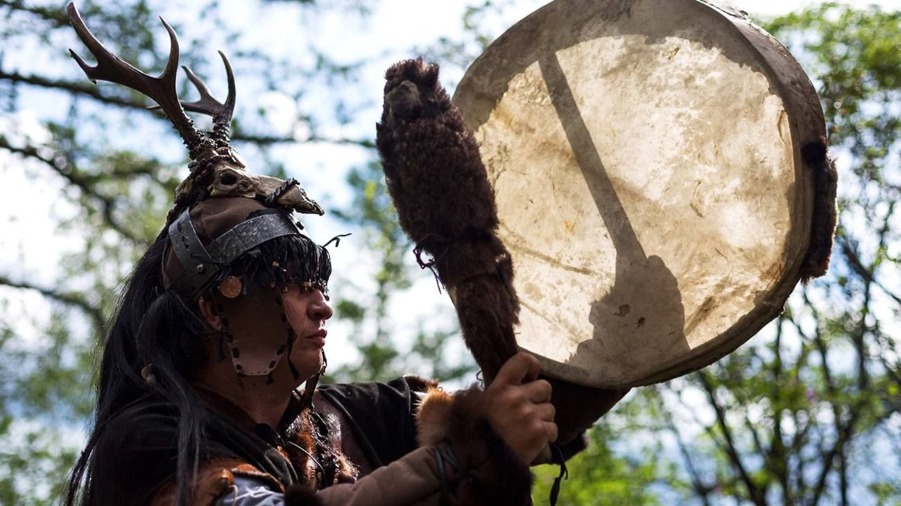 Работа шамана