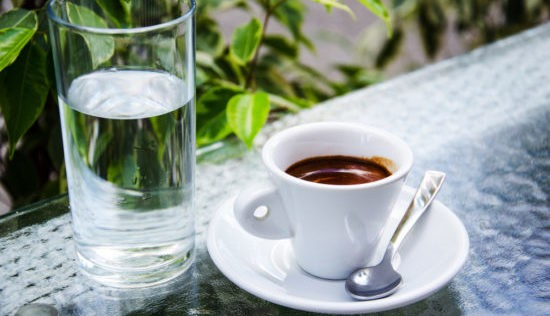 кофе с холодной водой