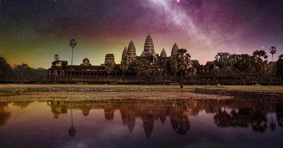 Древний город кхмеров